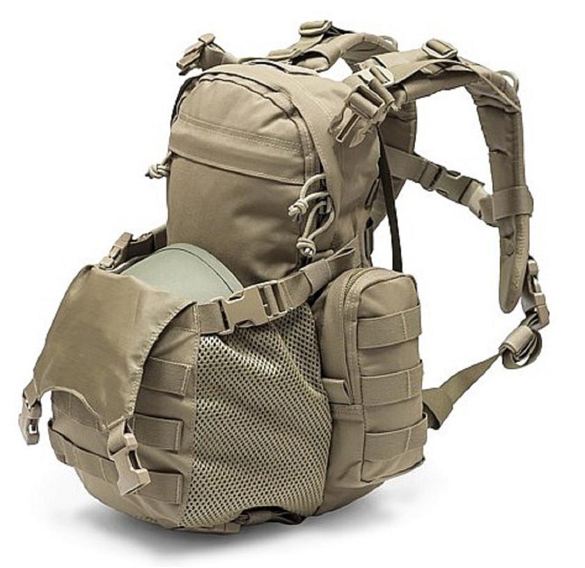 Warrior Assault Systems Rucksack Helmet Cargo Pack Coyote Offen