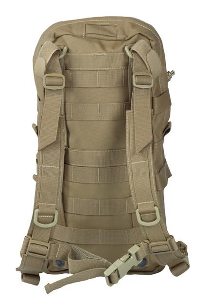 Warrior Assault Systems Rucksack Cargo Pack Coyote Rückseite