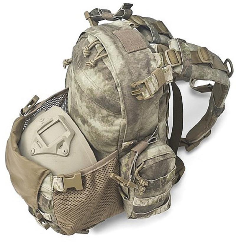 Warrior Assault Systems Rucksack Helmet Cargo Pack A-TACS AU offen