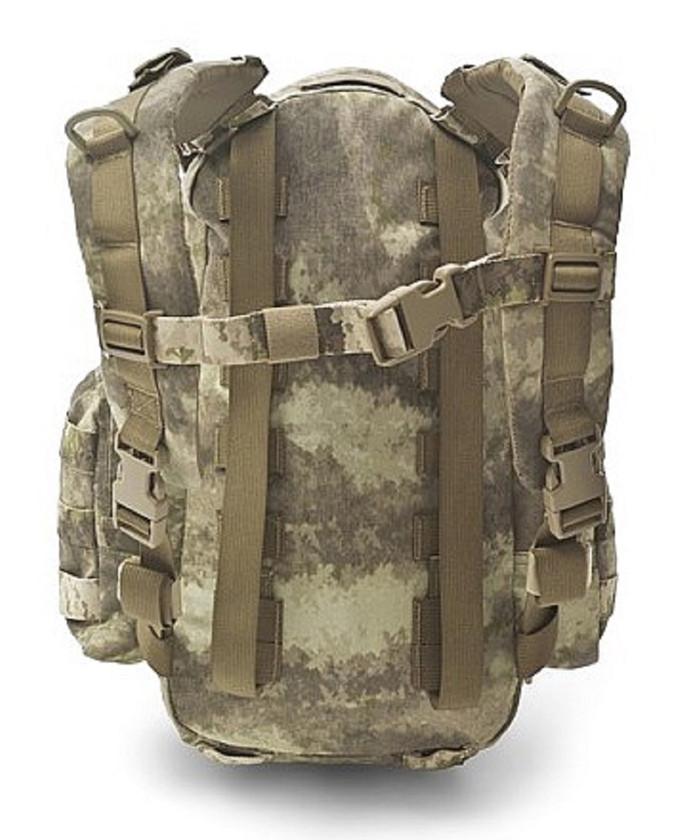 Warrior Assault Systems Rucksack Helmet Cargo Pack A-TACS AU Rückseite
