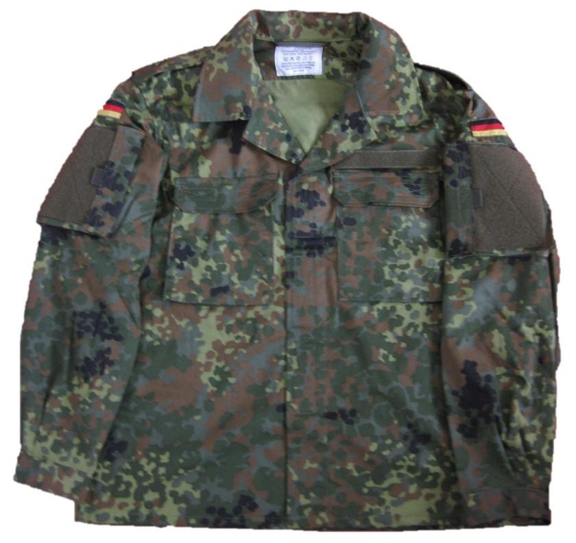 Leo Köhler Bundeswehr Kommandofeldbluse Flecktarn