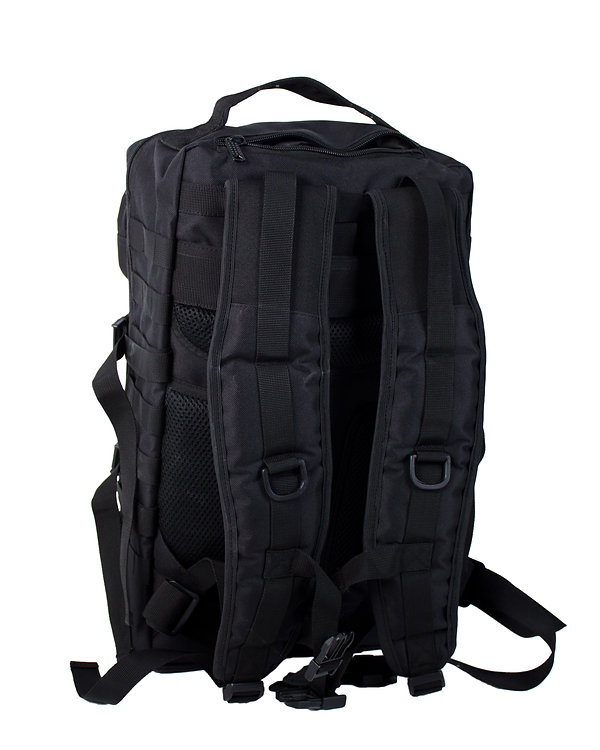CHK-Rucksack-MK1-Medium-schwarz-Rueckans