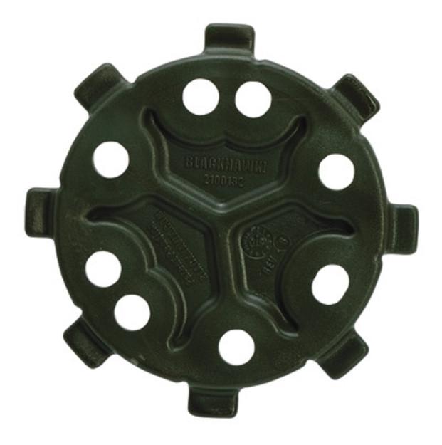 Blackhawk SERPA Schnelltrennsystem Male-Scheibe Oliv