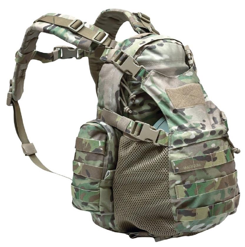 Warrior Assault Systems Rucksack Helmet Cargo Pack Multicam Front