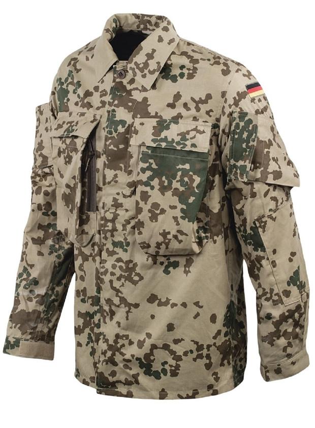 Leo Köhler Bundeswehr Kommandofeldbluse Tropentarn 2