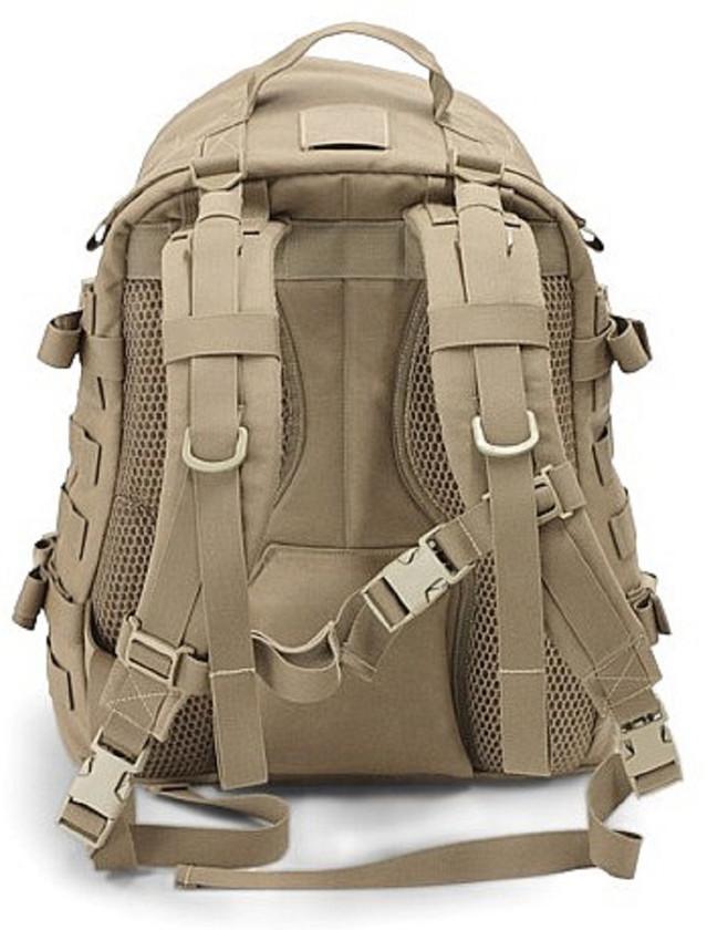 Warrior Assault Systems Rucksack Pegasus Pack Coyote Rückseite
