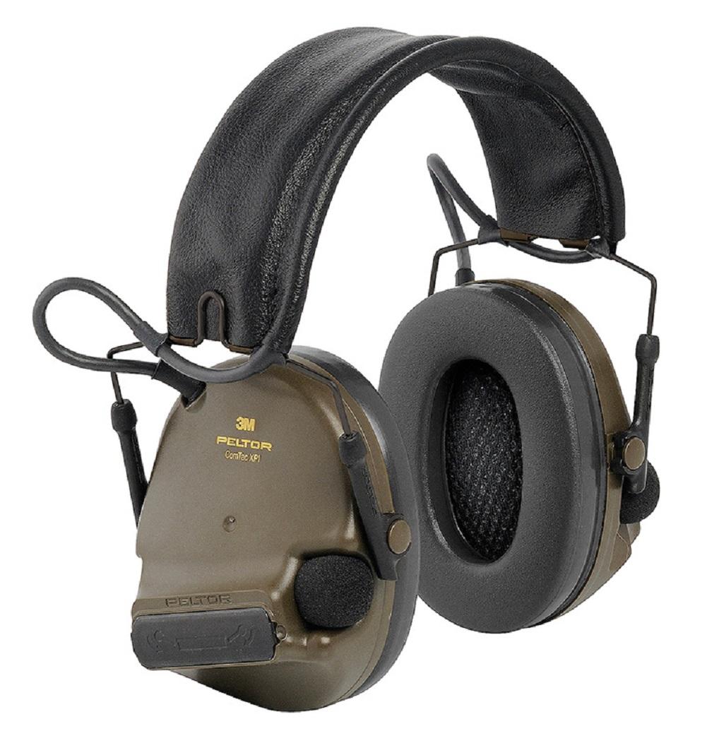 3M Peltor ComTac XPI Gehörschutz Oliv