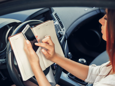 From Banning Texting While Driving to Any Distracted Driving?