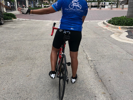 Spreading the word: turn signals for Florida cyclists