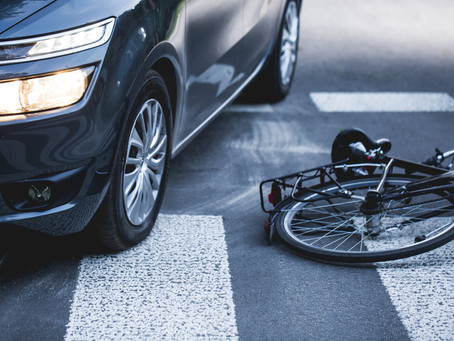 If a Florida bicyclist is injured in a crash, who pays the medical bills?