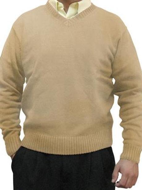 Sweater cuello V M/Larga