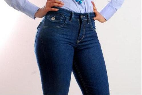 Jeans Mujer Denim Clasico