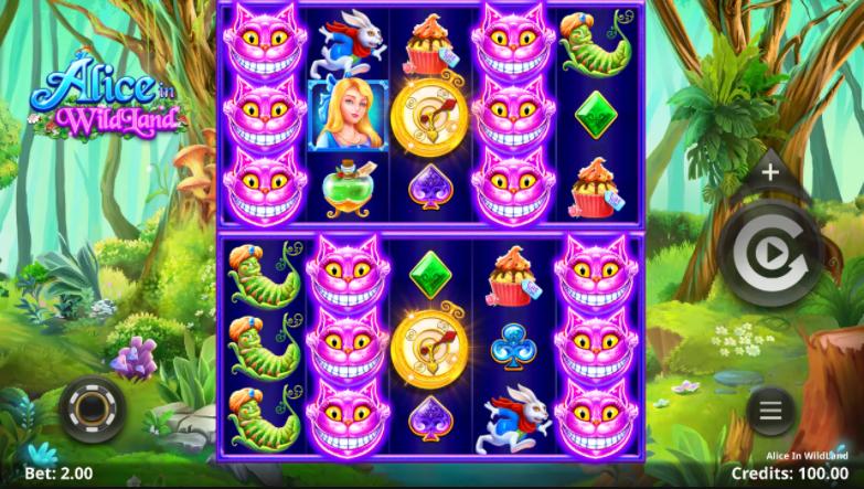 Alice In Wildland Slot SpinPlay Games Genius Gambling
