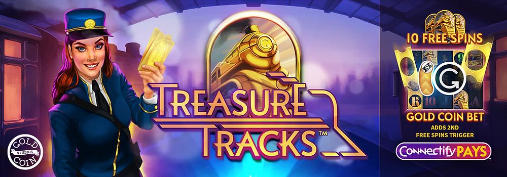 Treasure Tracks Connectify Pays Slot Genius Gambling