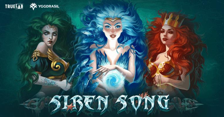 Siren Song Slot TrueLab Games Logo Genius Gambling