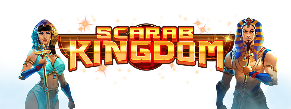Scarab Kingdom Slot Logo Genius Gambling