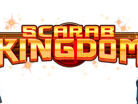 Scarab Kingdom Slot By Just For The Win Releasing 03/08/2021