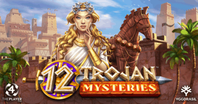 12 Trojan Mysteries Slot By 4ThePlayer Review!