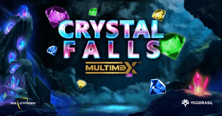 Crystal Falls Multimax Slot Logo Genius Gambling
