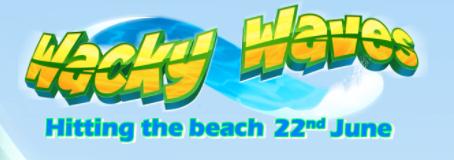 Wacky Waves Slot By Eyecon Releasing 22/06/2021