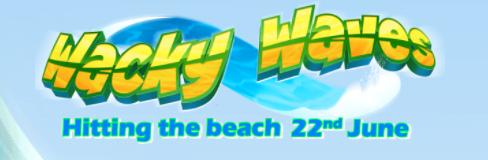 Wacky Waves Logo Eyecon Genius Gambling