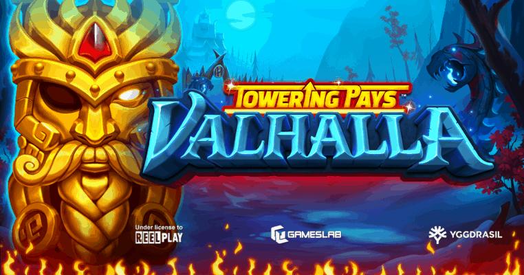 Towering Pays Valhalla Slot Logo Games Lab Genius Gambling