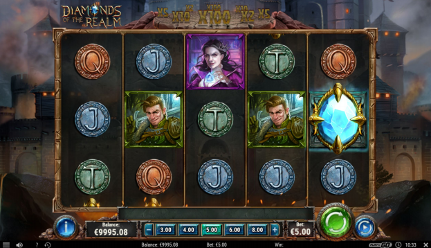 Diamonds Of The Realm Slot By Play'n Go Preview Genius Gambling