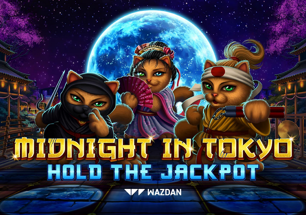 Midnight In Tokyo Hold The Jackpot Wazdan Genius Gambling