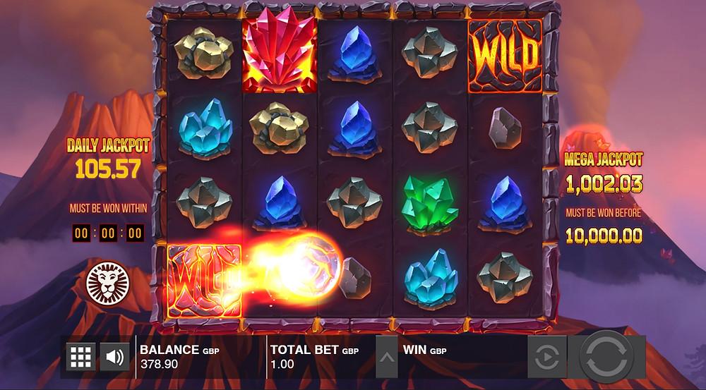 Mount Magmas Push Gaming Slot Game Genius Gambling