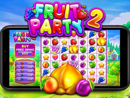 Fruit Party 2 Slot Review By Pragmatic Play Releasing 05/08/2021