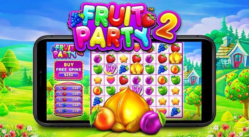 Fruit Party 2 Review Genius Gambling Logo