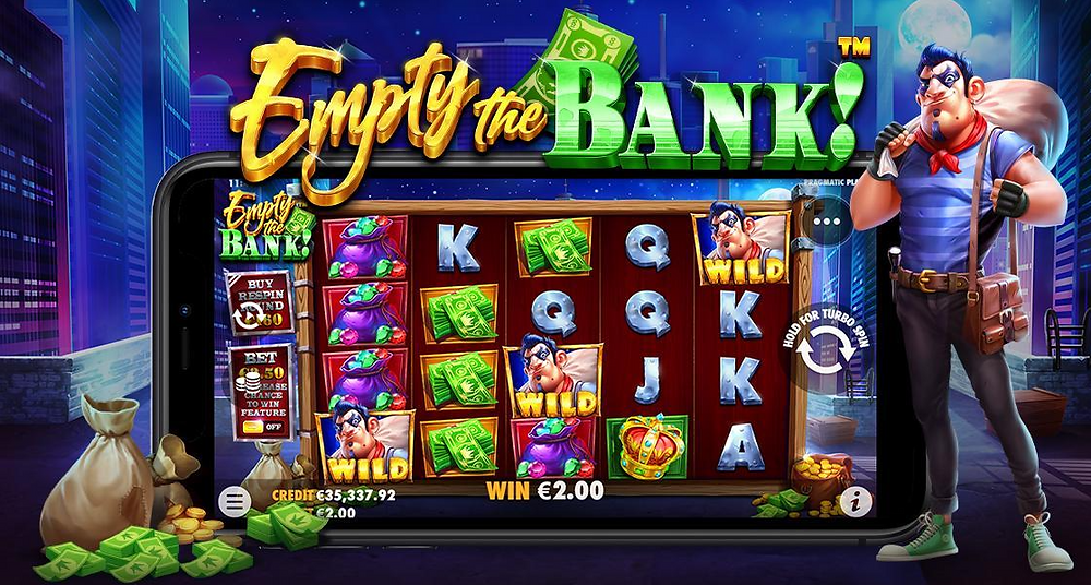 Empty The Bank Slot Pragmatic Play Genius Gambling