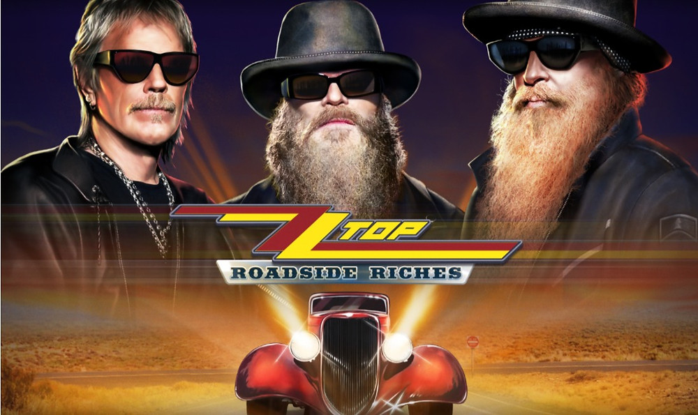 ZZ Top Roadside Riches Slot Review By Play'n Go Releasing 05/08/2021