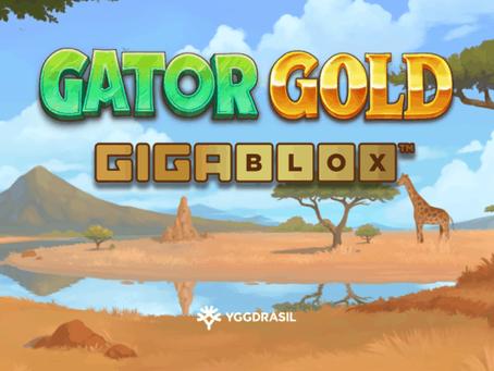 Gator Gold GigaBlox By Yggdrasil Releasing 27/05/2021