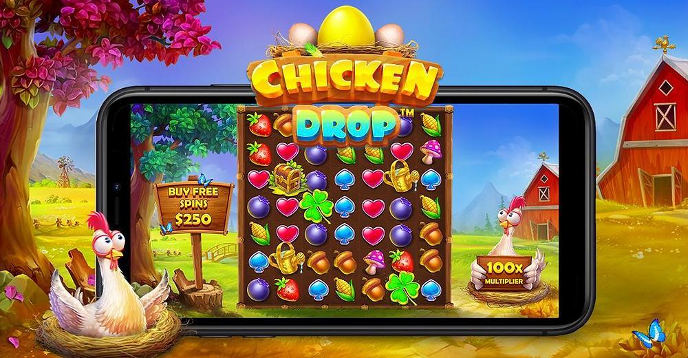 Chicken Drop Slot By Pragmatic Play Genius Gambling