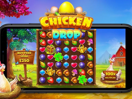 Chicken Drop Slot By Pragmatic Play First Look Releasing 29/07/2021