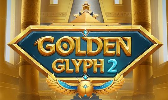 Golden Glyph 2 Logo Slot Genius Gambling