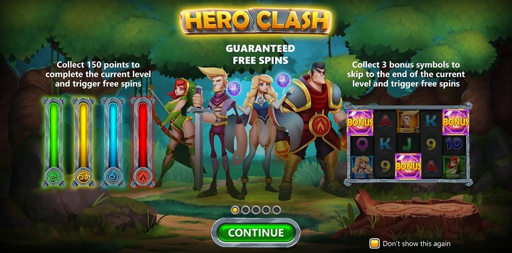 Hero Clash Slot Hurricane Games Stake Logic Genius Gambling