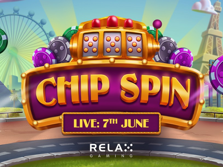 Chip Spin Slot By Relax Gaming Releasing 06/07/2021