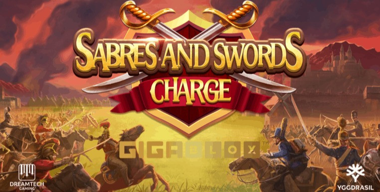 Sabres And Swords Charge Gigablox Slot Review By Dreamtech Gaming Genius Gambling