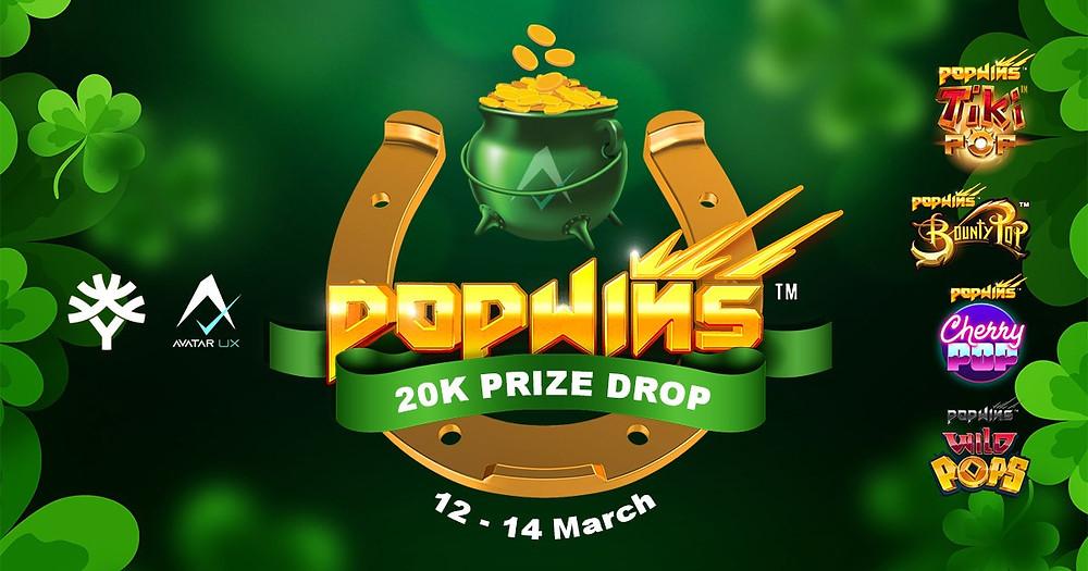 pop wins 20k prize drop yggdrasil avatar ux genius gambling