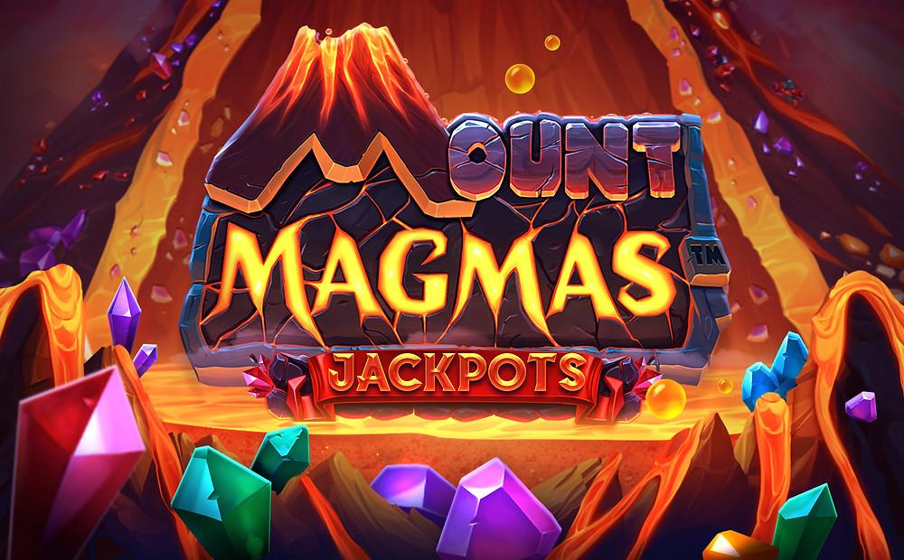 Mount Magmas Push Gaming Logo Genius Gambling