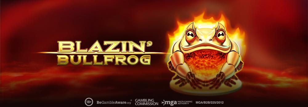 Blazin Bullfrog Slot By Play'nGo Genius Gambling