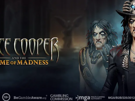 Alice Cooper Tome Of Madness Slot Preview By Play'n Go