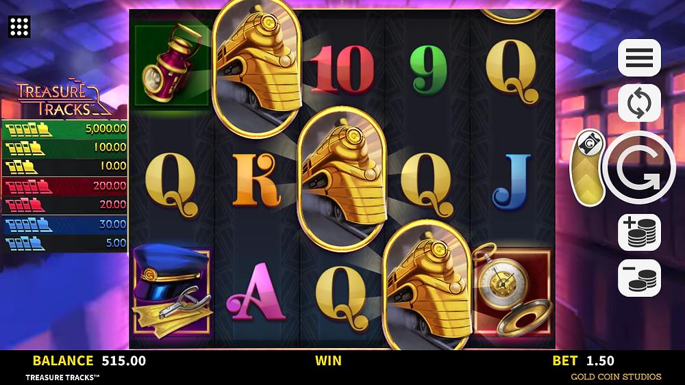 Treasure Tracks Connectify Pays Slot Bonus Genius Gambling