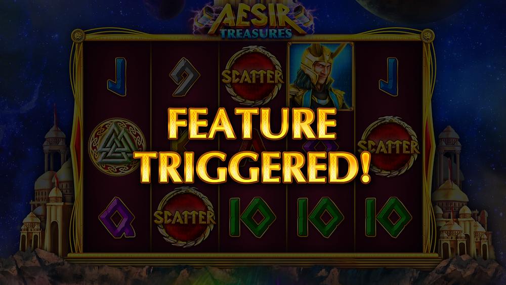 Aesir Treasures Slot bonus game Pariplay Genius Gambling