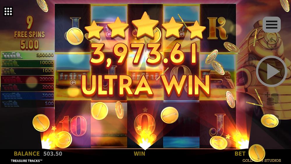 Treasure Tracks Connectify Pays Slot Bonus Big Win Genius Gambling
