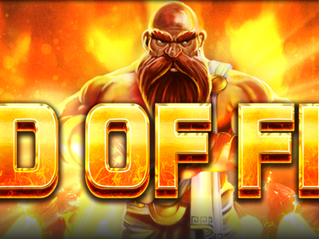 God Of Fire Slot Announcement By Northern Lights Releasing 09/09/2021