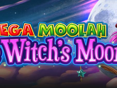 Mega Moolah The Witch's Moon Slot Announcement By Aurum Signature Studios!