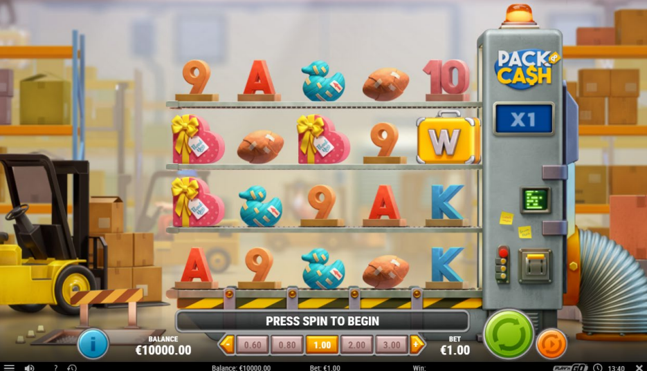 Pack and Cash Play N Go Preview Wild Feature